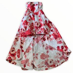 Speechless pink floral evening gown size 9